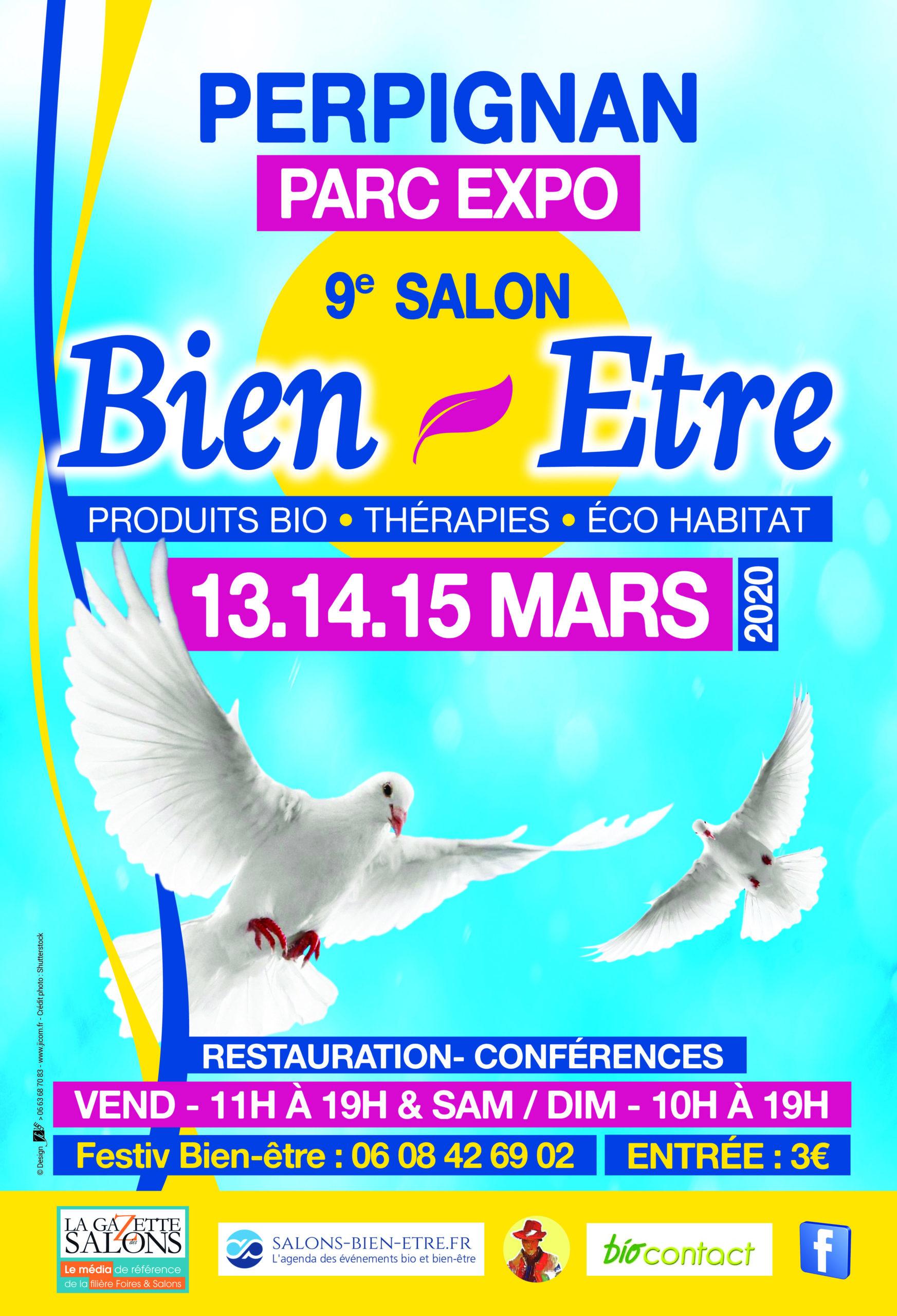 Perpignan - Salon du bien-être 2020 @ Grand Hall du Parc des expositions