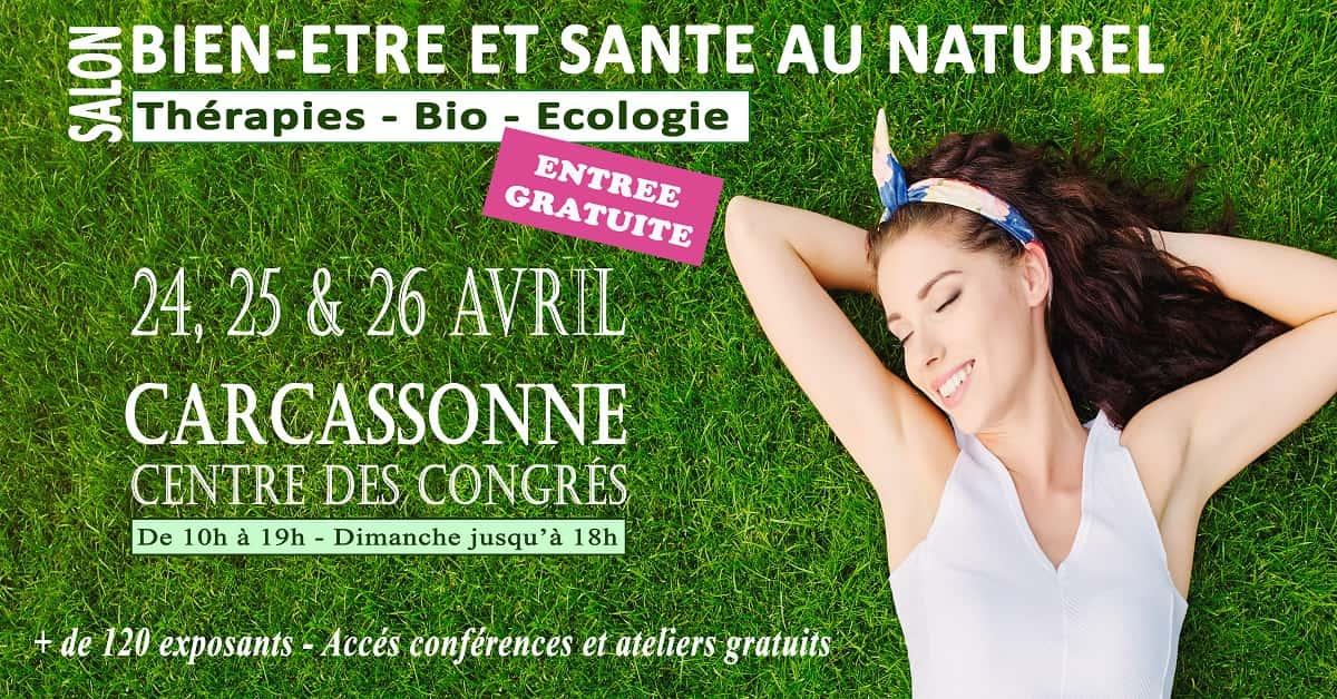 Carcassonne - Salon Bien être 2020 @ centre des congres